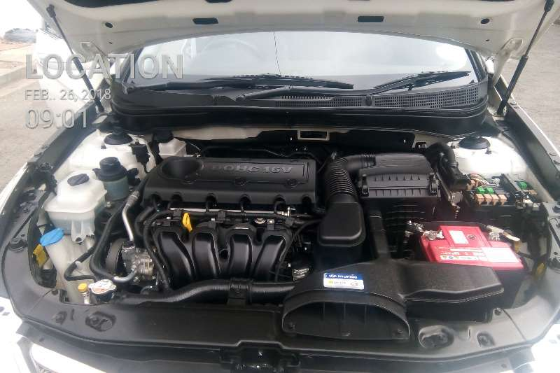 Hyundai Sonata 2.4 GLS automatic 2012