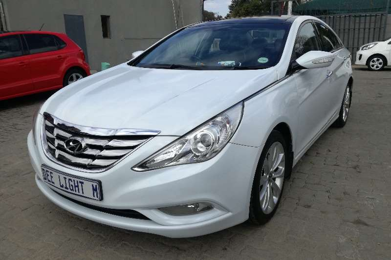 Hyundai Sonata 2.4 GLS Executive Auto 2012