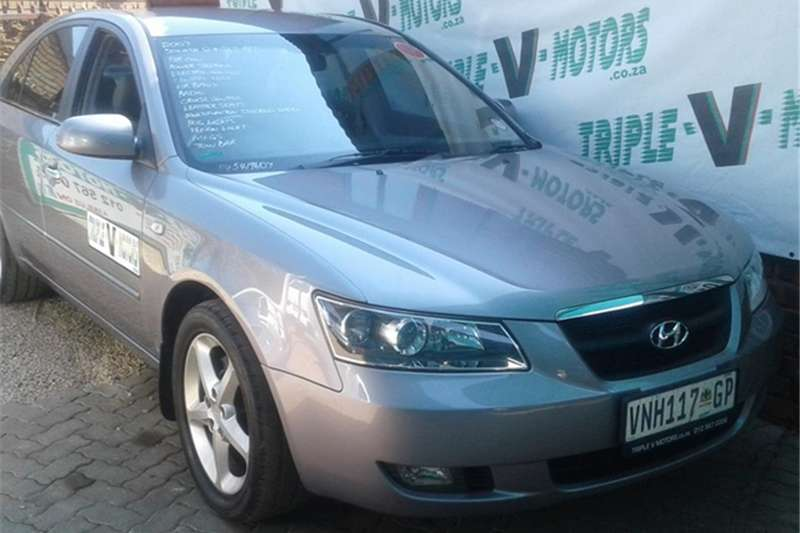 2007 Hyundai Sonata 2.4 GLS automatic