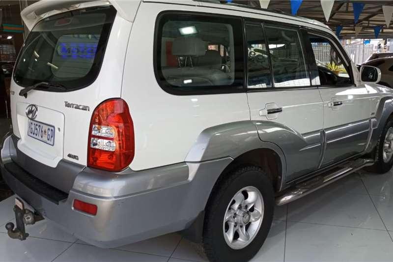 Used 2004 Hyundai Terracan 2.9 CRDi automatic