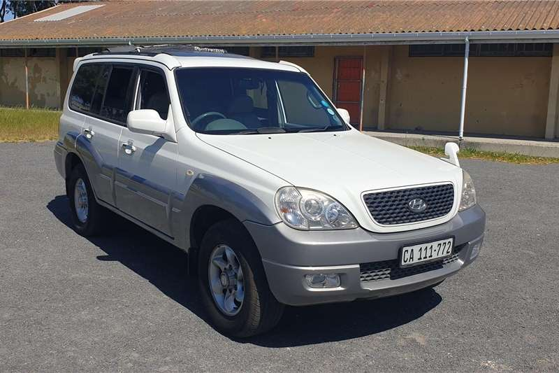 Hyundai Terracan 3.5 V6 7 seater automatic 2007