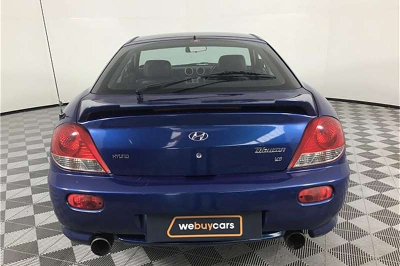 Hyundai Tiburon 2.7 GLS 2006
