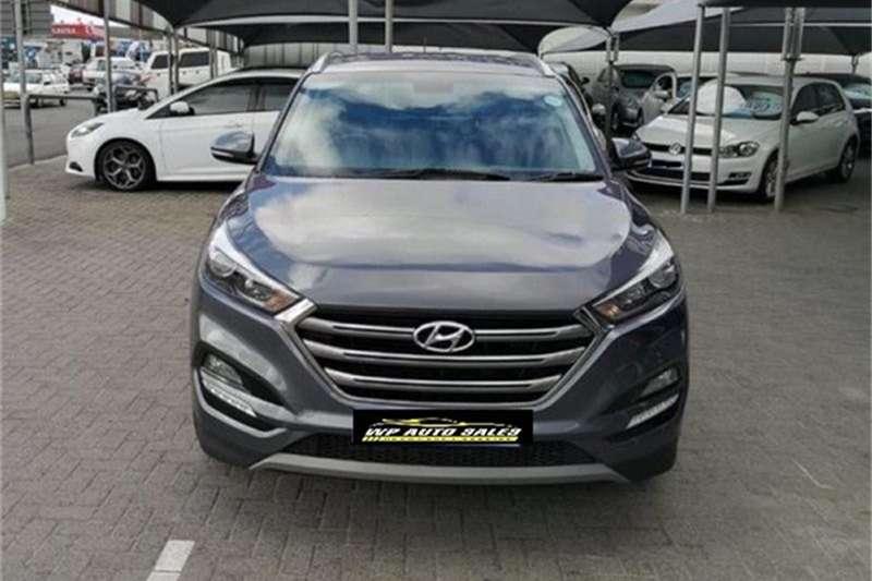Hyundai Tucson 1.7CRDi Executive 2016