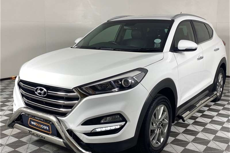 2018 Hyundai Tucson Tucson 1.7CRDi Executive
