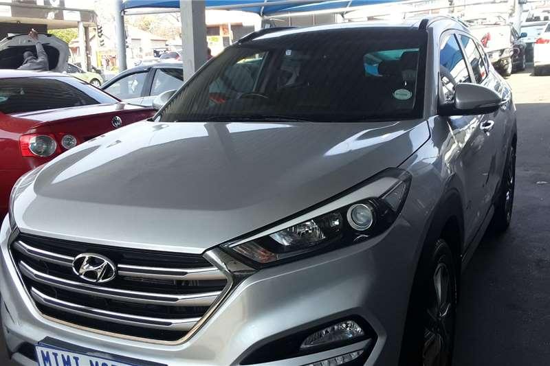 2018 Hyundai Tucson Tucson 2.0CRDi Elite