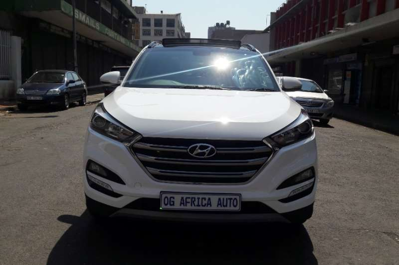 2018 Hyundai Tucson 2.0 CRDi 4x4