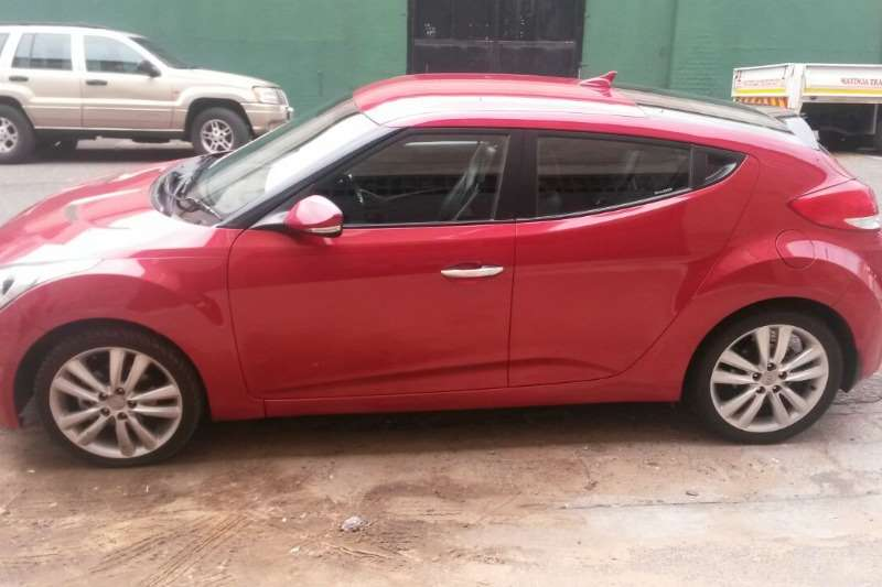 Hyundai Veloster 1.6 Executive auto 2014