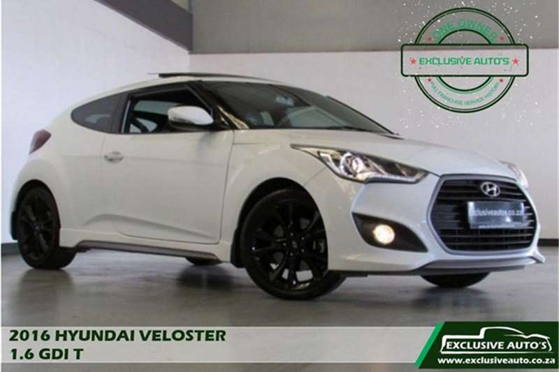 Hyundai Veloster Turbo Elite 2016