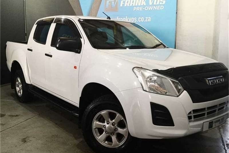 2017 Isuzu KB KB 250D-Teq double cab Fleetside