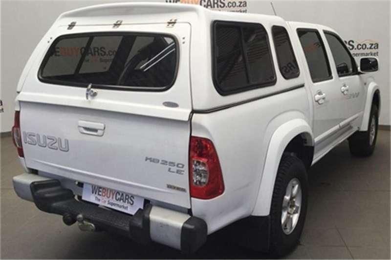 Isuzu KB 250D-Teq double cab LE 2010