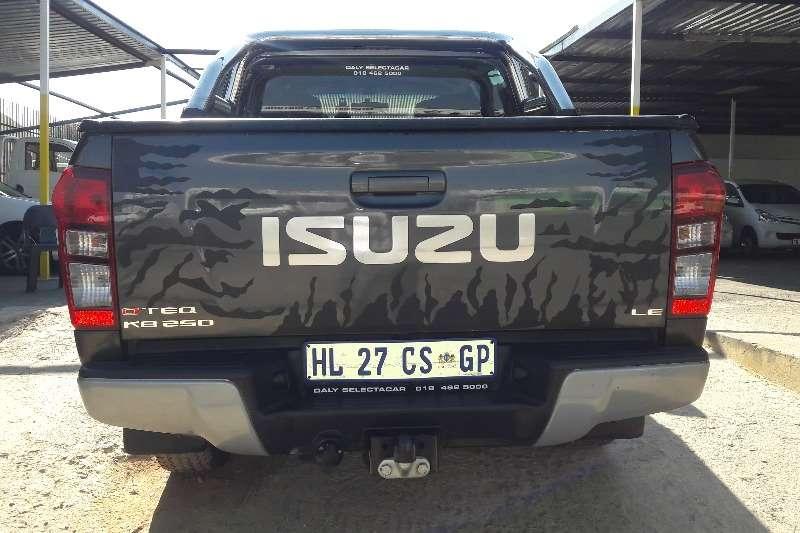 Isuzu KB 250D Teq double cab LE 2014