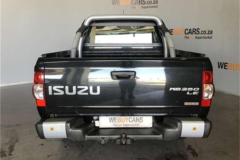 Isuzu KB 250D Teq double cab LE 72 2012