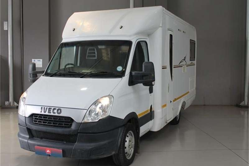 Iveco Daily 4 Berth Motorhome 2016