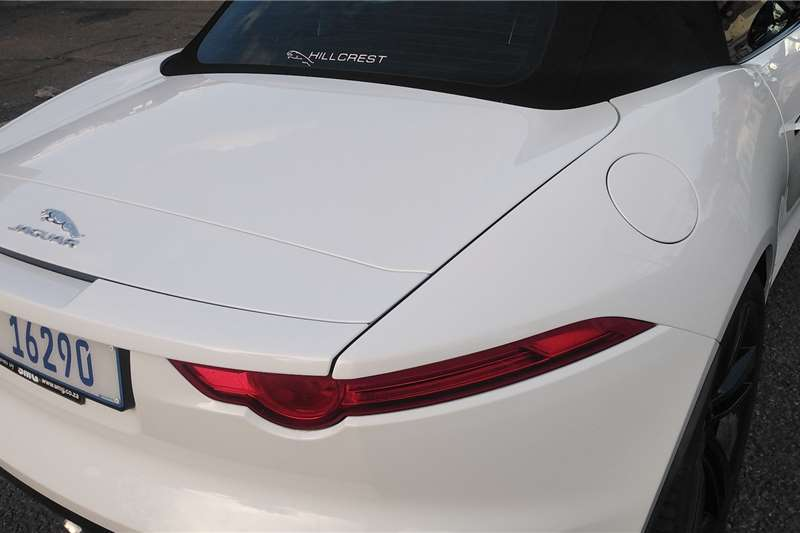 Used 2014 Jaguar F-Type Convertible F TYPE S 3.0 V6 CONVERT R DYNAMIC A/T
