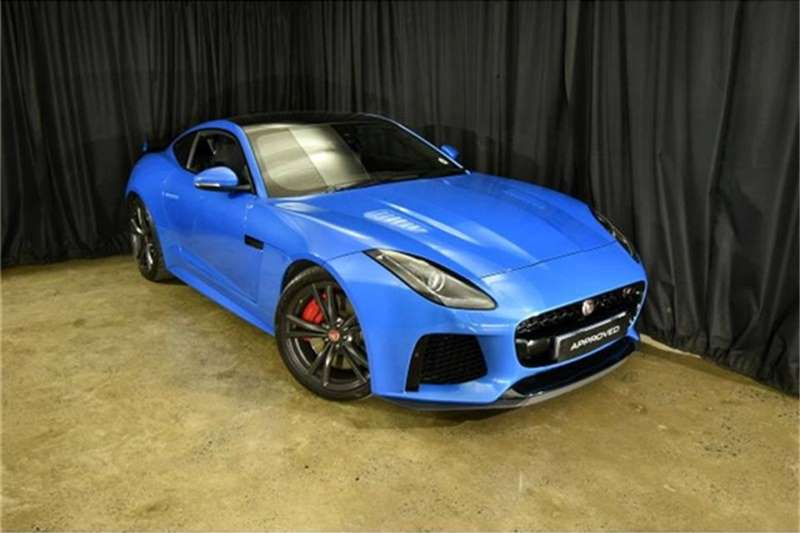 2017 Jaguar F-Type SVR coupe AWD