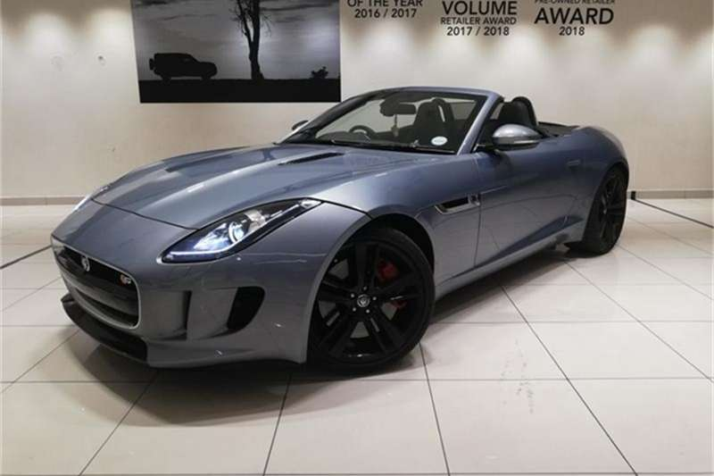 Jaguar F-Type S convertible 2013