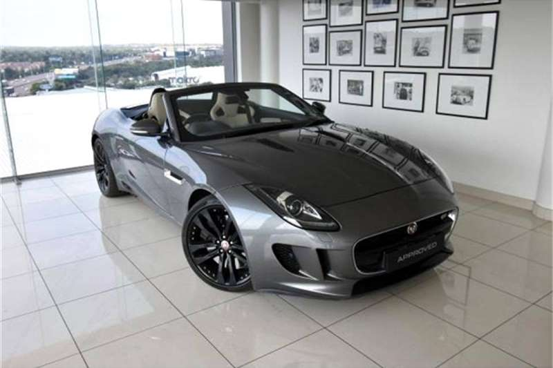 Jaguar F-Type S convertible 2016