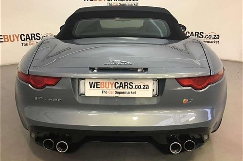 Jaguar F-Type V8 S convertible 2013