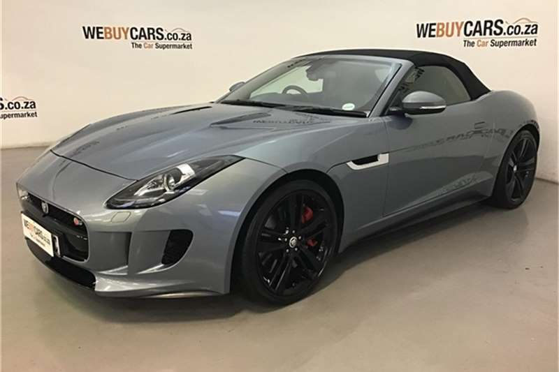 Jaguar F-Type V8 S convertible 2013