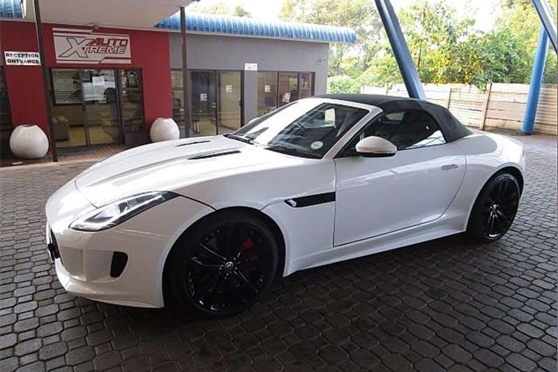 Jaguar F-Type V8 S convertible 2014
