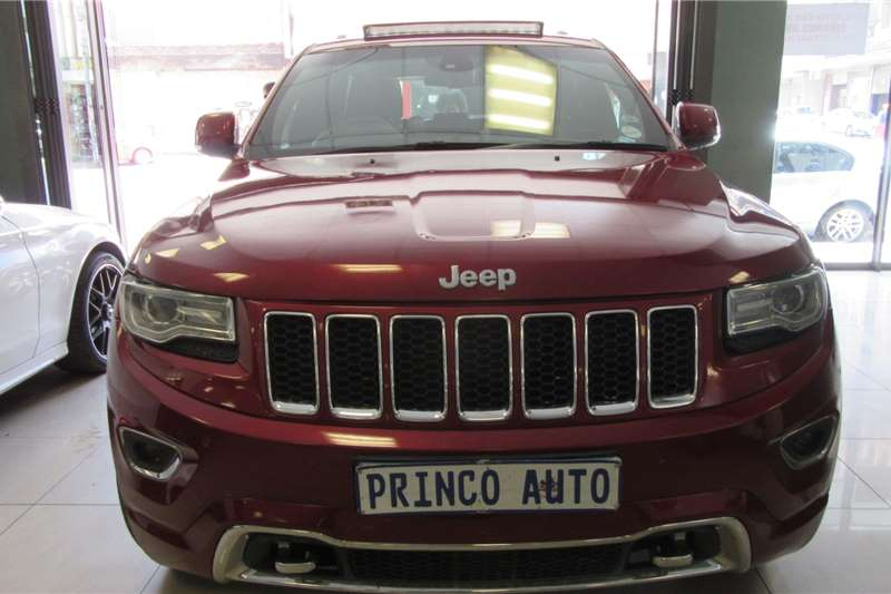 Used Jeep Grand Cherokee Red Gauteng Prices Waa2