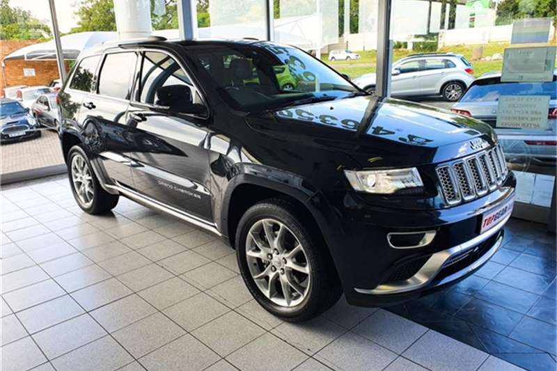 2016 Jeep Grand Cherokee 3.6L Summit