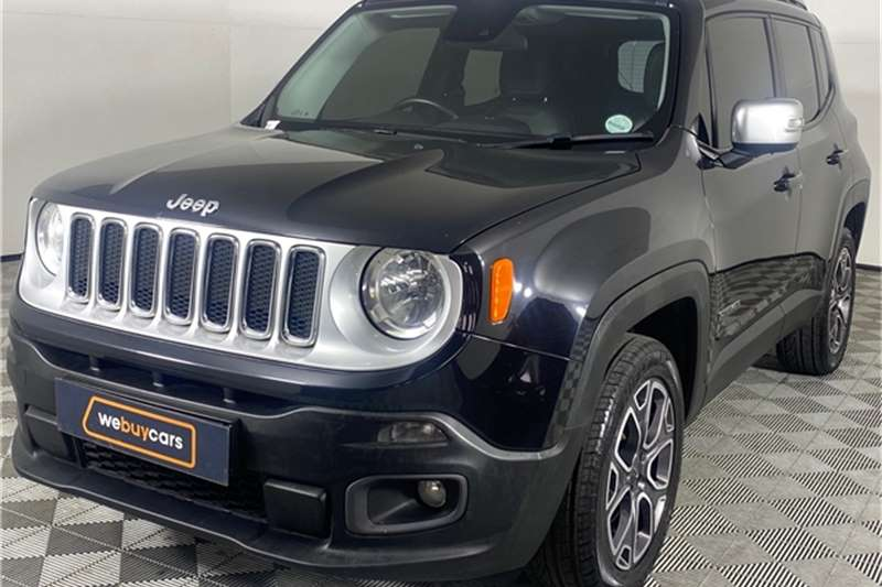 Used 2017 Jeep Renegade 1.4L T 4x4 Limited
