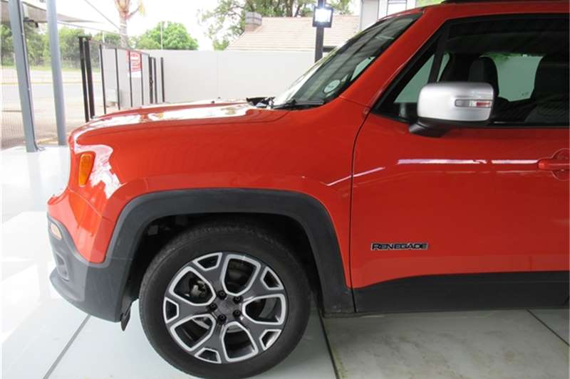 2016 Jeep Renegade Renegade 1.4L T Limited