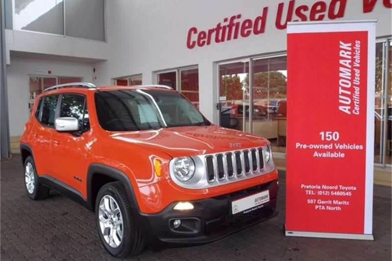 2016 Jeep Renegade 1.4L T Limited auto