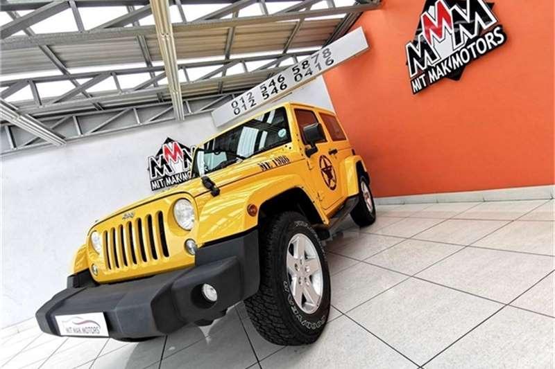 Jeep Wrangler 3.6L Sahara 2015