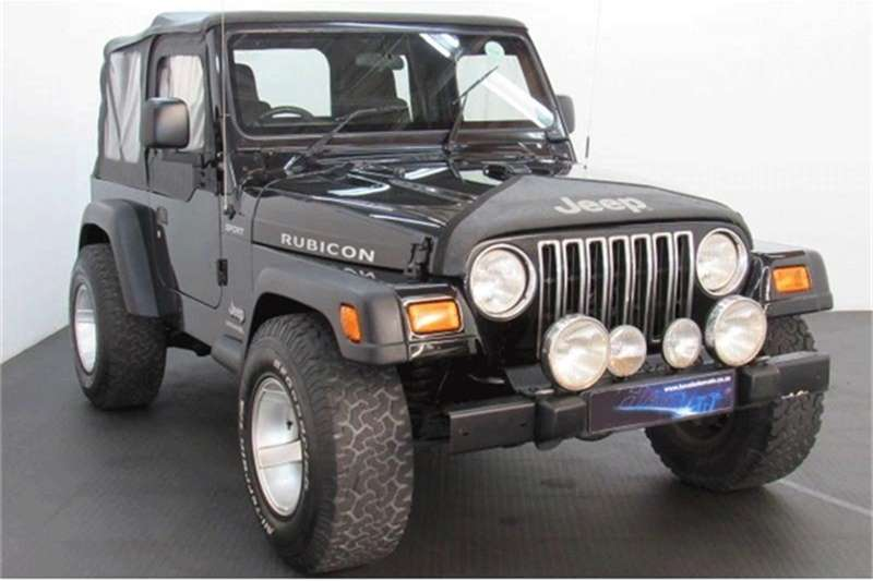 Jeep Wrangler 4.0 Sahara 2005