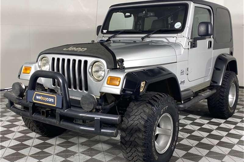 2006 Jeep Wrangler Wrangler 4.0L Sahara