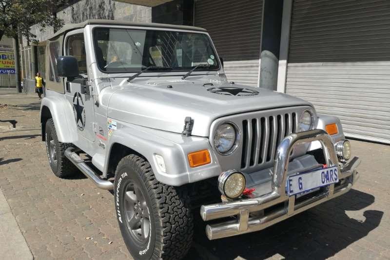 Jeep Wrangler 4.0L Sahara 2007