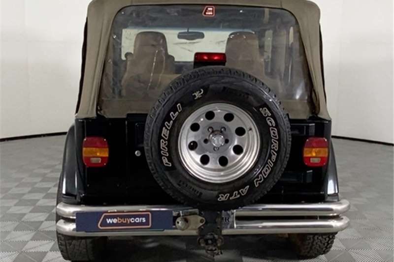 Used 2004 Jeep Wrangler 4.0L Sahara automatic