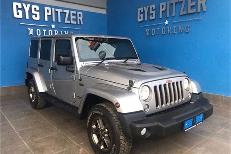 2016 Jeep Wrangler Unlimited 2.8CRD Sahara