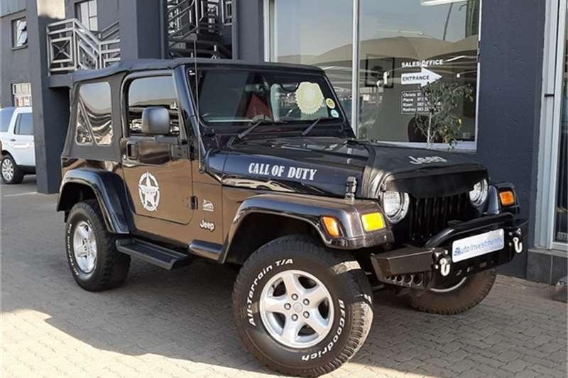 2006 Jeep Wrangler 4.0L Sahara