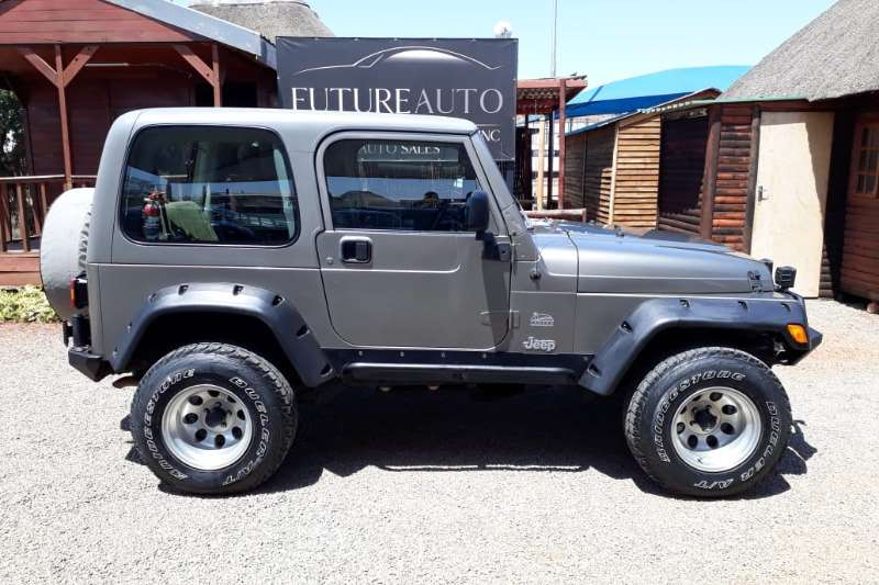 2003 Jeep Wrangler 4.0L Sahara
