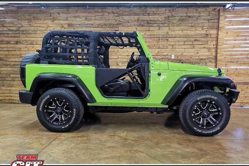 2012 Jeep Wrangler WRANGLER SAHARA 3.6 V6 2DR