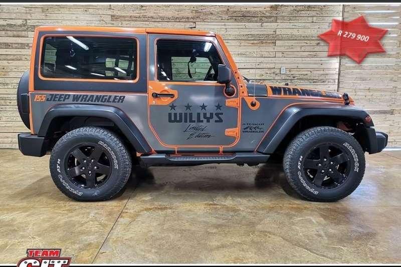 2013 Jeep Wrangler WRANGLER SAHARA 3.6 V6 2DR