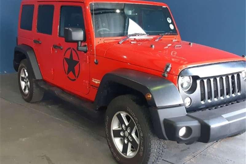 2016 Jeep Wrangler Unlimited 3.6L Sahara