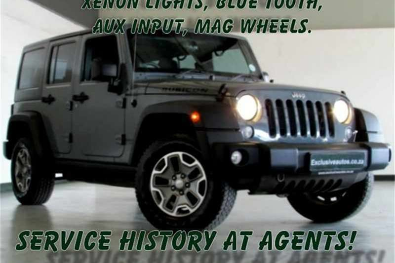 2014 Jeep Wrangler Unlimited 3.6L Rubicon