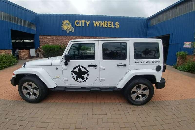 2018 Jeep Wrangler Unlimited 2.8CRD Sahara