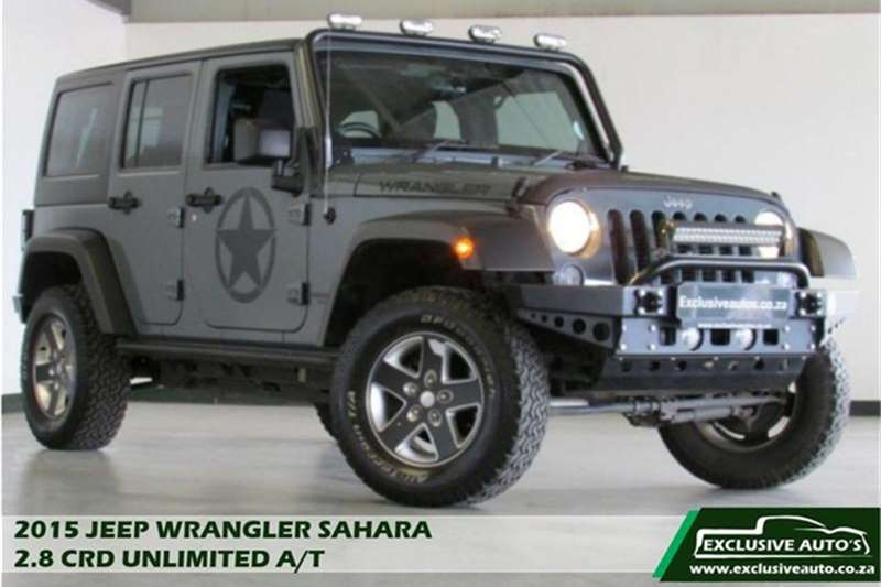 2015 Jeep Wrangler Unlimited 2.8CRD Sahara