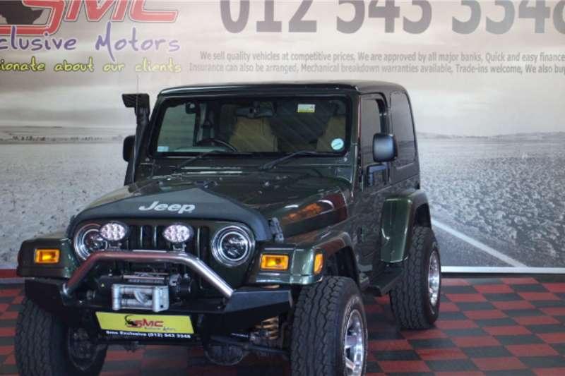 2007 Jeep Wrangler 4.0L Sahara