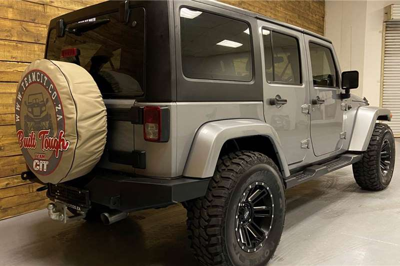 2013 Jeep Wrangler Unlimited 3.6L Sahara