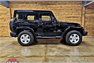 Jeep Wrangler SAHARA 3.6 V6 2DR 2012