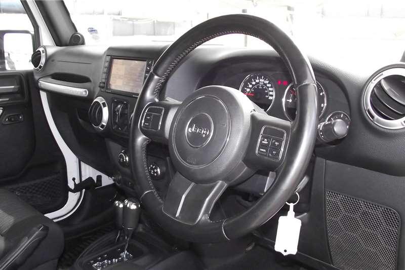 Used 2011 Jeep Wrangler Unlimited 2.8CRD Sahara