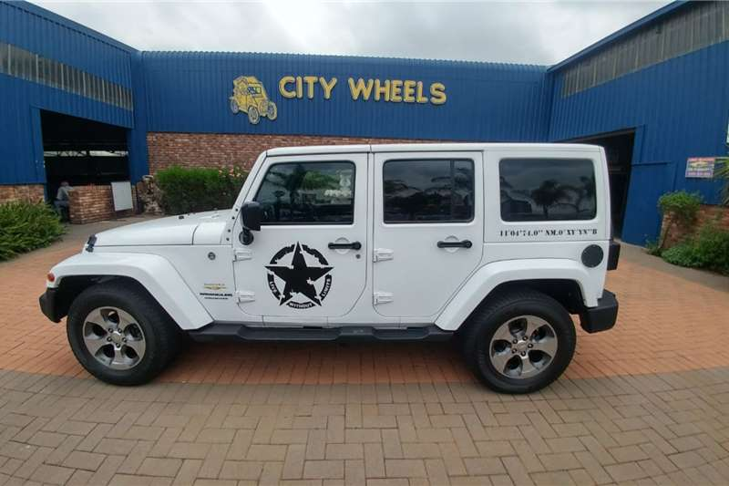 Jeep Wrangler Unlimited 2.8CRD Sahara 2018