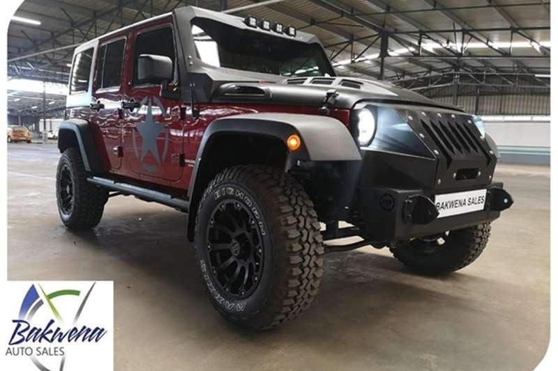 Jeep Wrangler Unlimited 3.6L Rubicon 2012