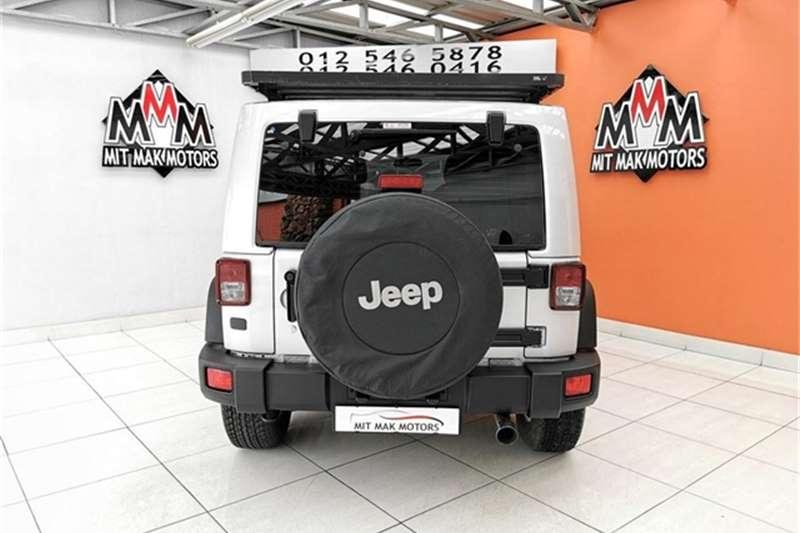 Jeep Wrangler Unlimited 3.6L Sahara 2012